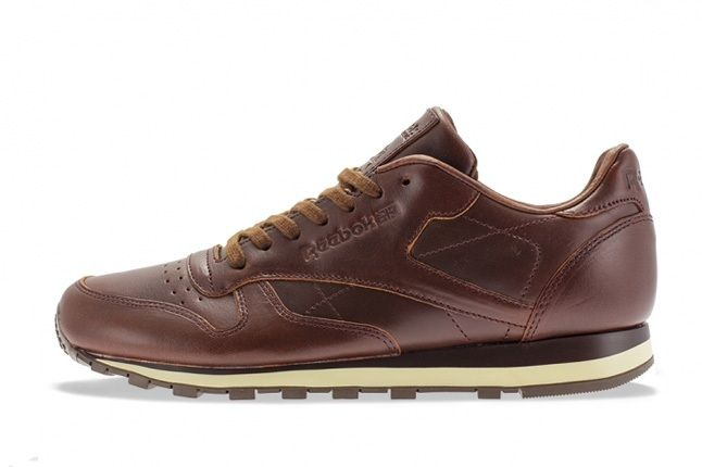 Reebok Classic Leather Lux Horween Chestnut 4