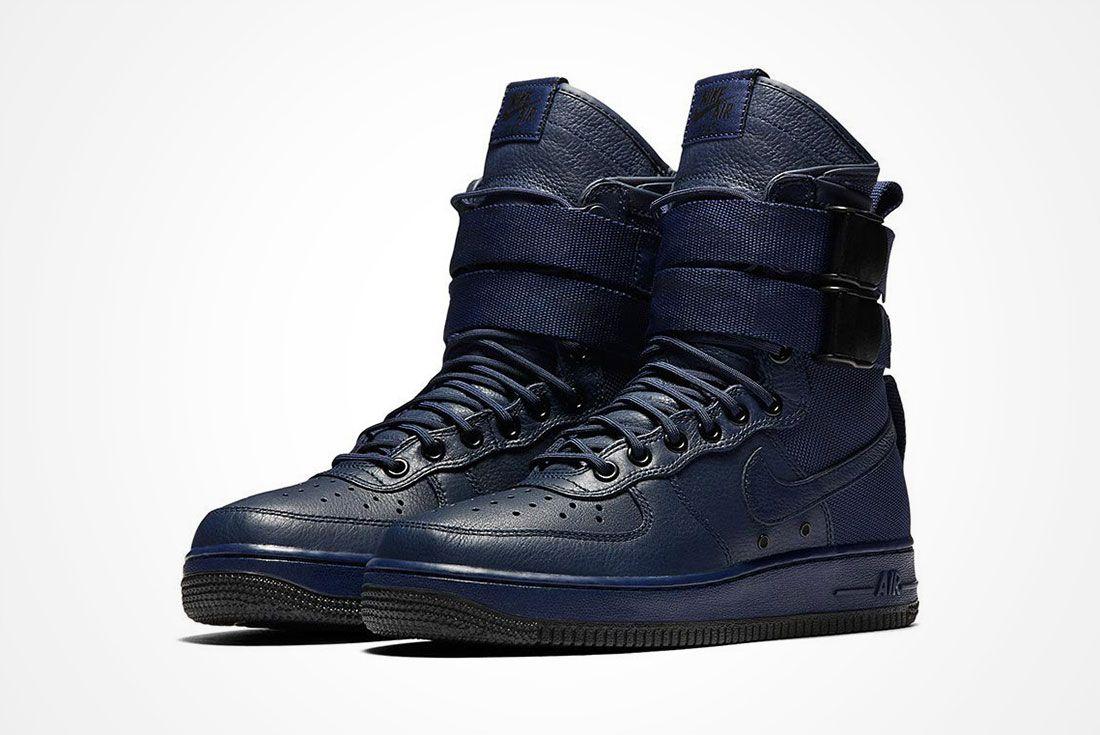 Nike Sf Air Force 1 Wmns Binary Blue A
