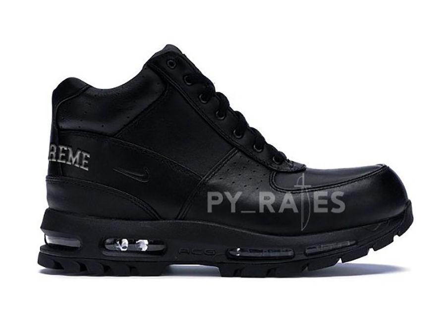 Nike Supreme Air Max Goadome Black Right