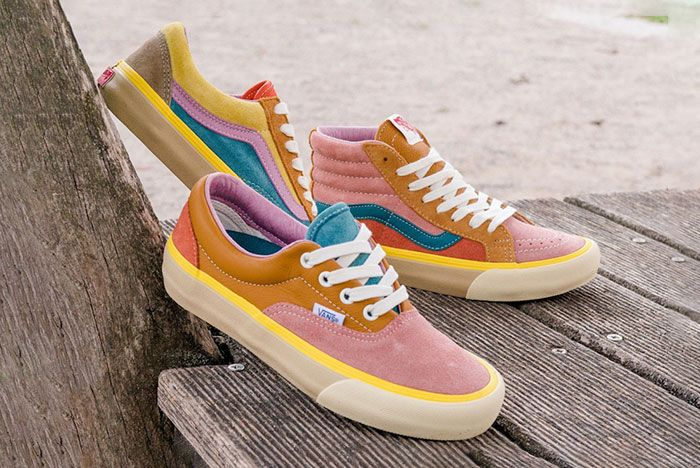 Vans Vault Sk8 Hi Old Skool Era Multicolor Lx Pack Release Date Group
