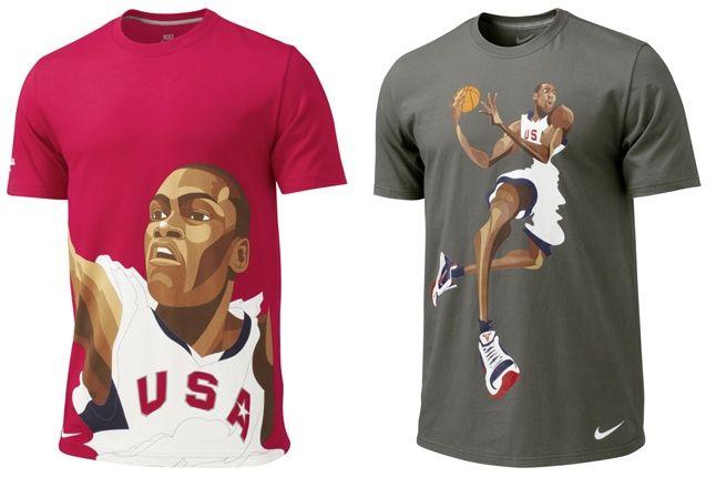 Nike World Basketball Tees 3 1