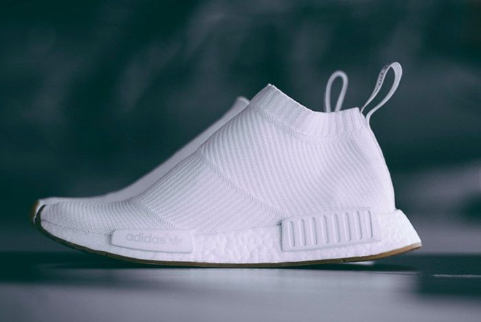 Adidas Nmd City Sock White Gum 1