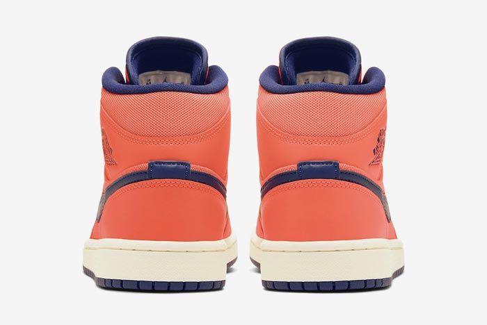 Air Jordan 1 Turf Orange Heels