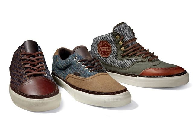 Vault By Vans X Harris Tweed Fall Holiday 2012 Collection 1