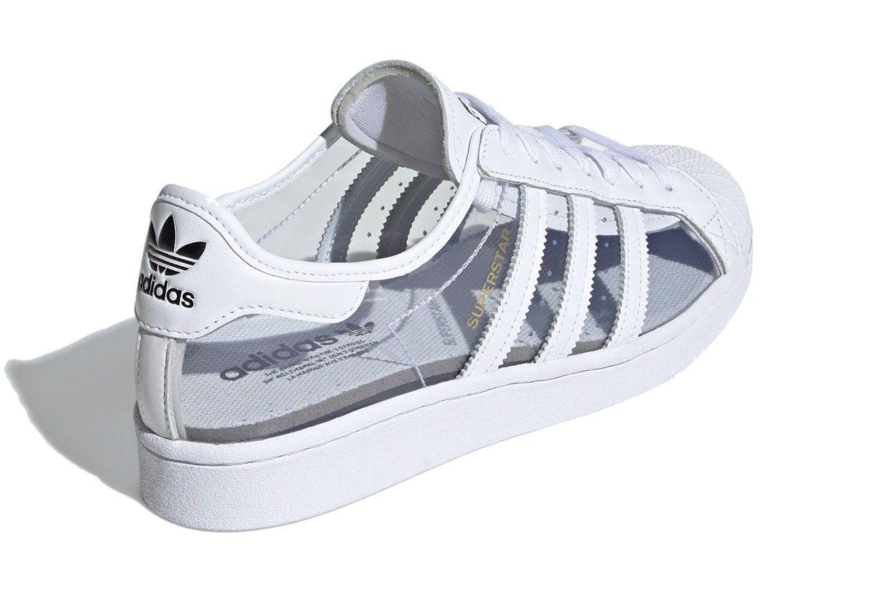 Translucent adidas Superstar