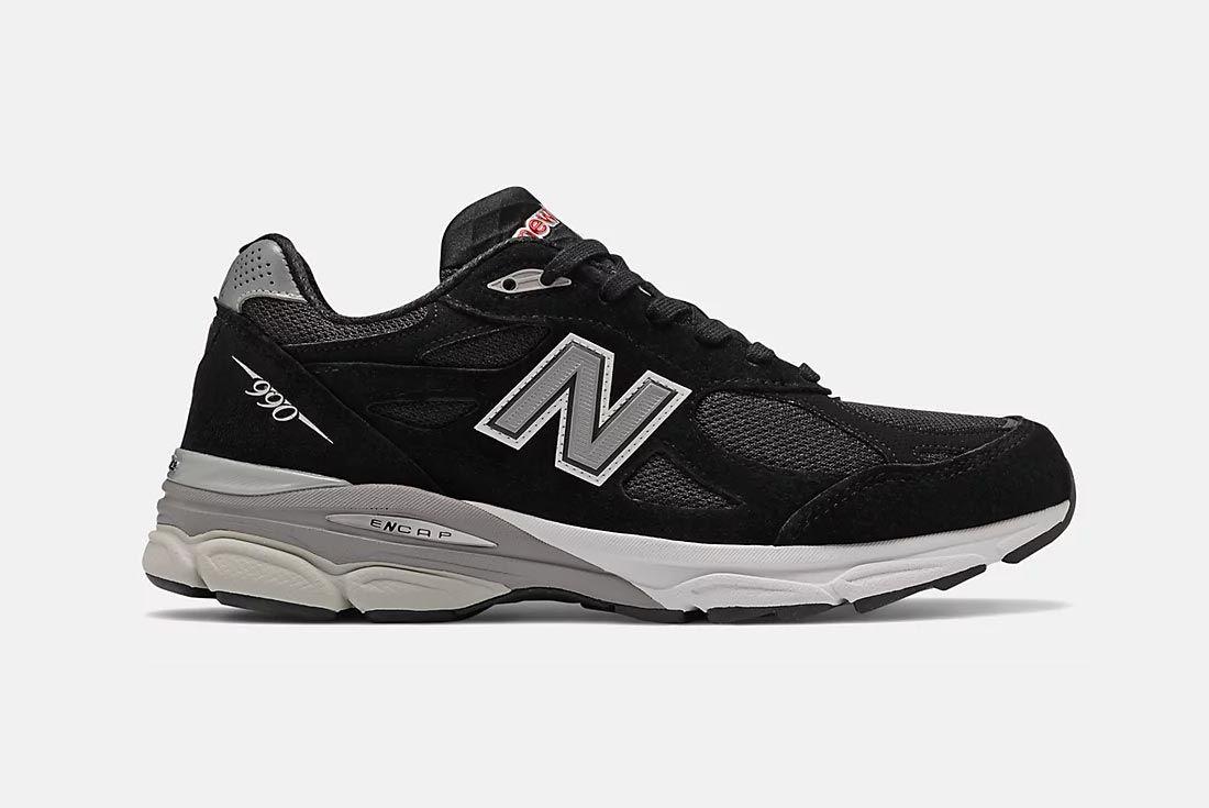 New Balance 990v3 Black/White/Grey