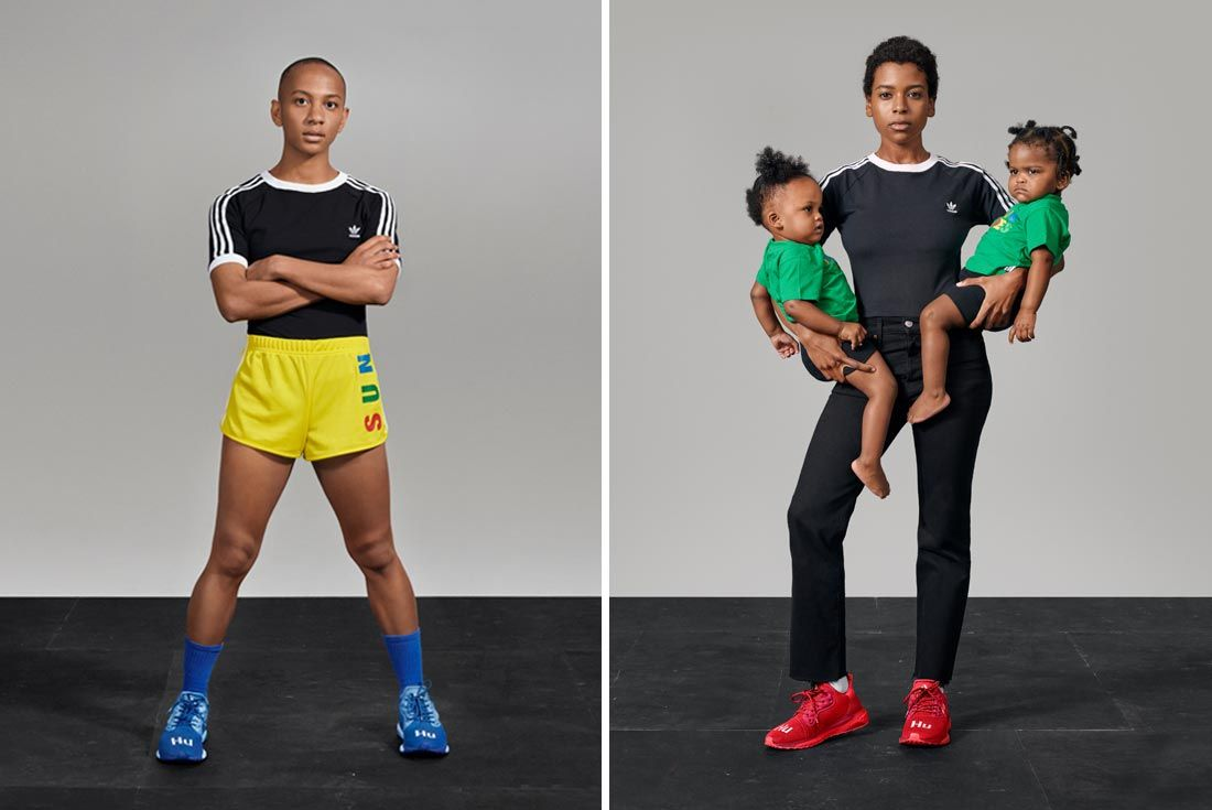 Adidas Now Is Our Time Campaign Ladies With Baby