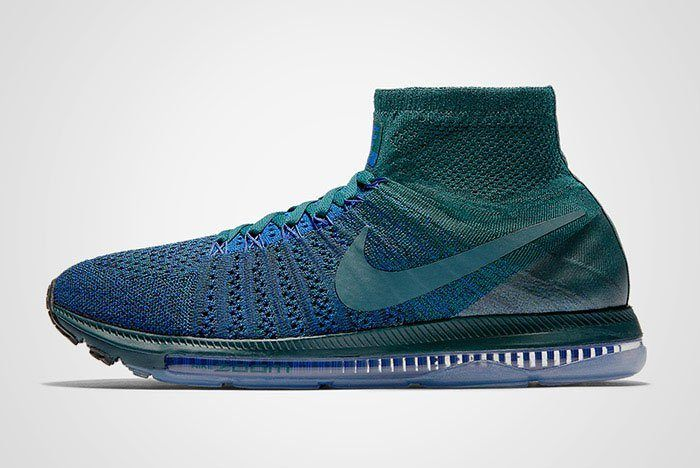 Nike Zoom All Out Flyknit Atomic Teal Blue Thumb