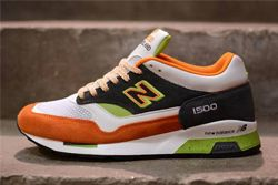 New Balance M1500 Whiteorangegreen Thumb
