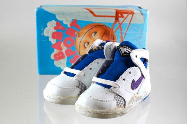 Nike Baby Sport Flight Huarache Purple Royal Blue 4