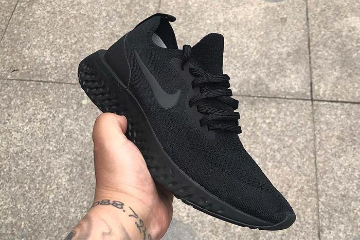 Nike Epic React Triple Black 1