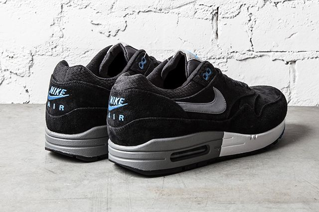 Nike Air Max 1 Premium Black N Blue 2