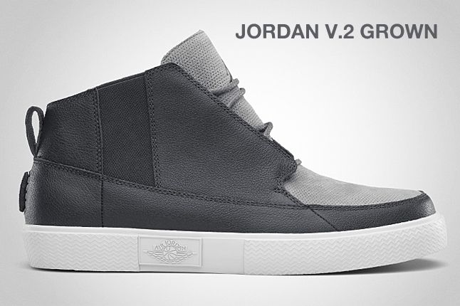 Jordan V 2 Grown Anthracite 1