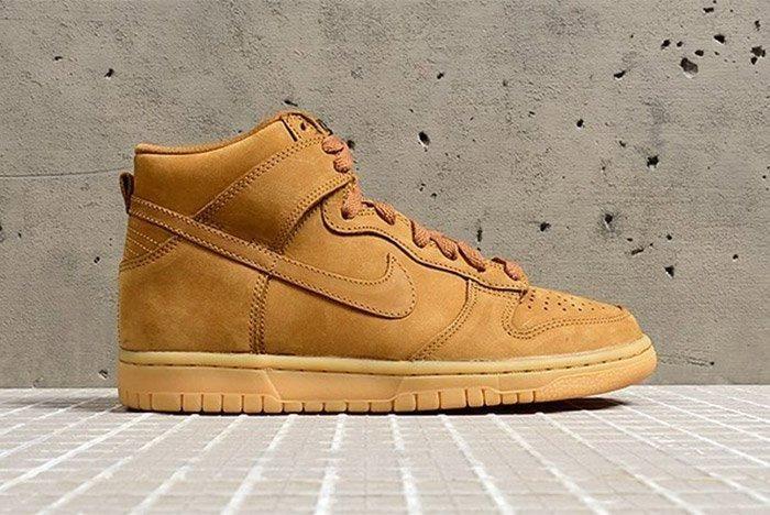 Nike Dunk High Premium Wheat 1