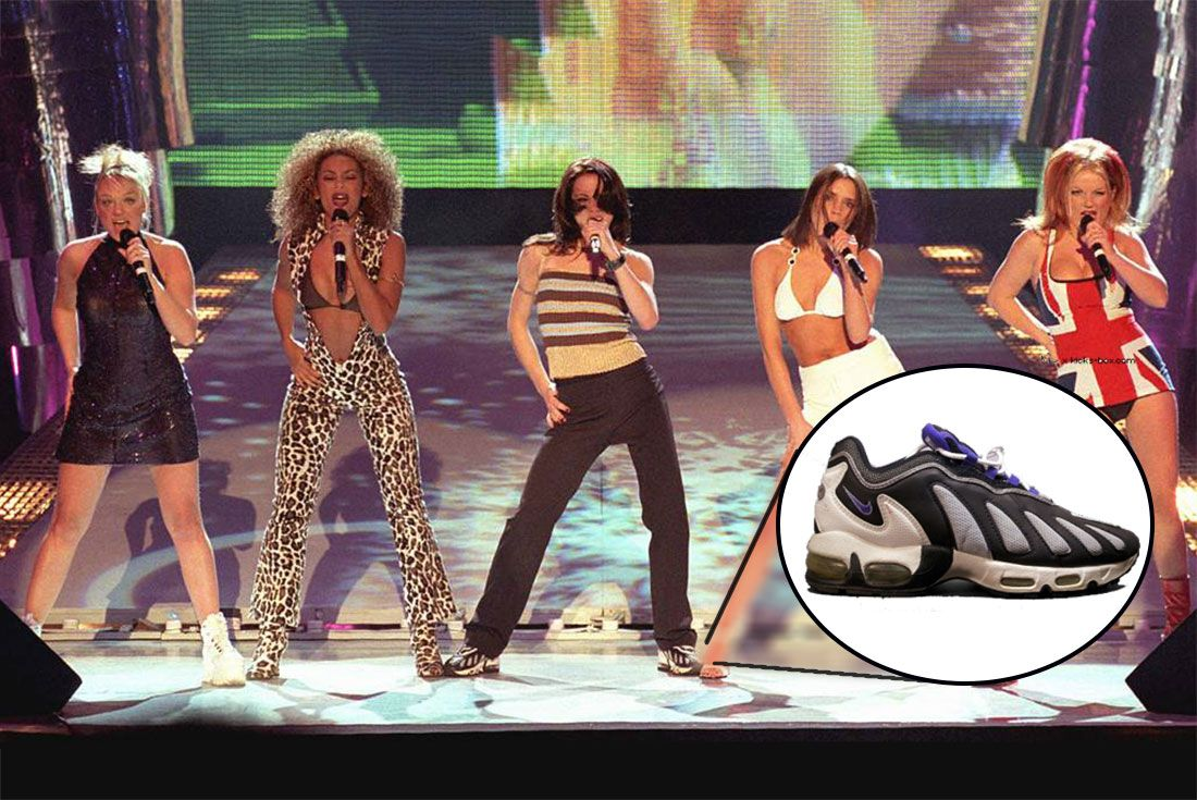 Spice Girls Brit Awards Mel C Air Max 96