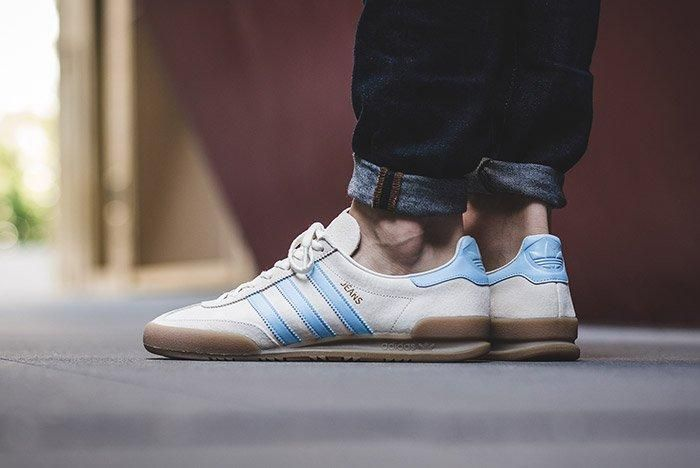 adidas Jeans (Clear White) - Sneaker