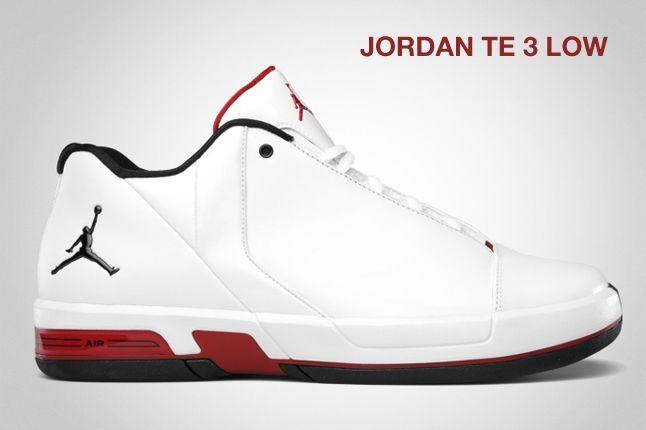 Jordan Te 3 Low Red 1