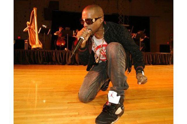 Kanye West Sneaker Style Jordan 5 Black