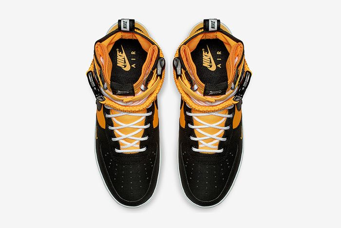 Nike Sf Af1 Black Orange 2