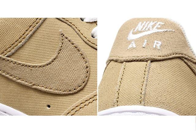 Nike Air Force 1 Canvas Yacht Club Khaki 4