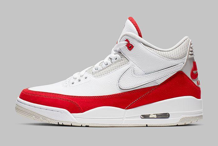 Air Jordan 3 Tinker University Red Left Side Shot
