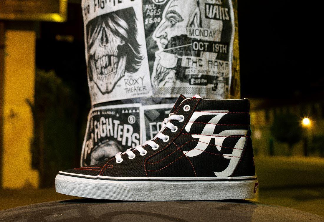 Foo Fighters x Vans Sk8-Hi