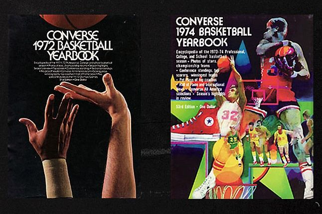 Converse Yearbook 1972 1974 1