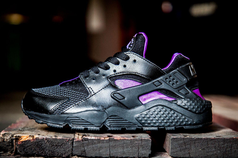 Nike Air Huarache (Black/Purple