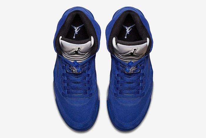 Air Jordan 5 Blue Suede 3