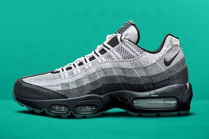 Nike Day Of The Dead Air Max 95 Lateral Side
