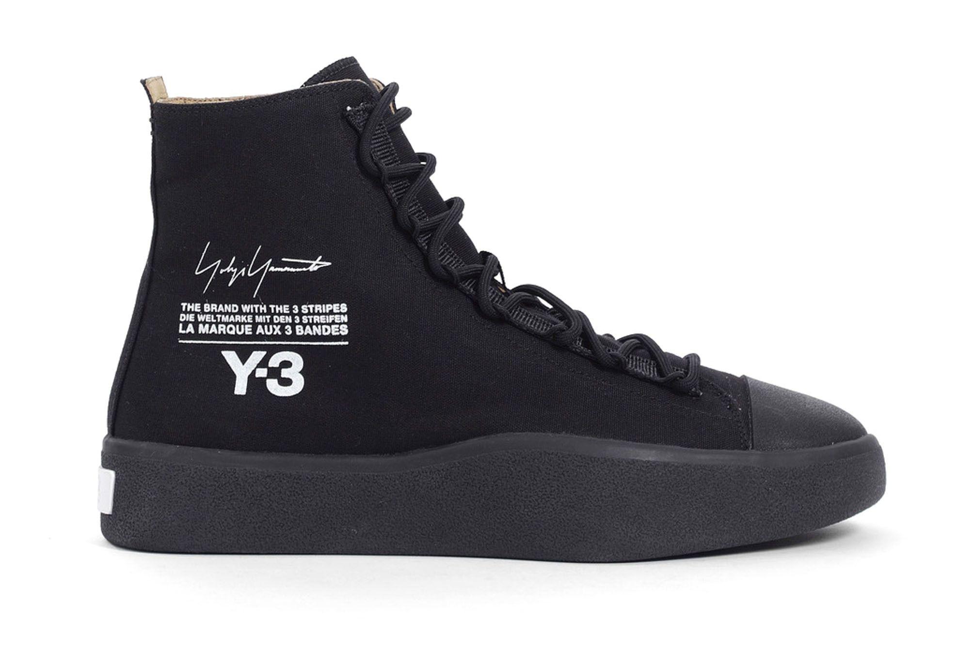 Y3 Bashyo Black Spring Summer 2018 Release 1 Sneaker Freaker