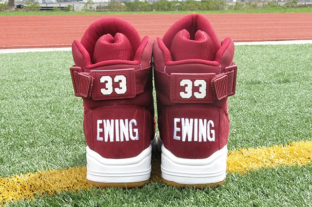 Ewing Athletics 33 Hi Burgundy 7