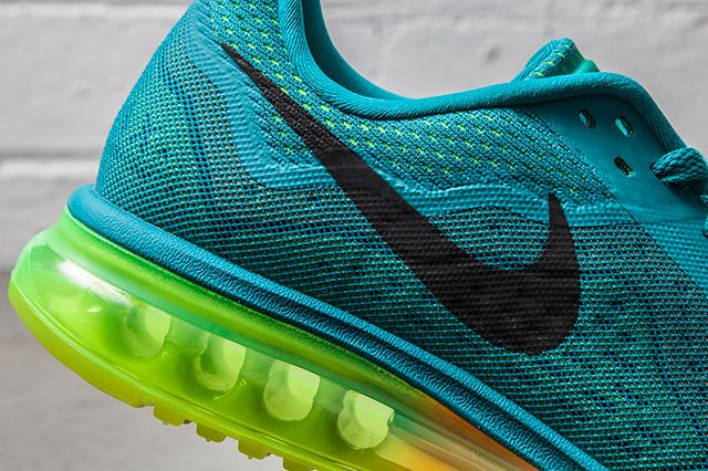 Nike Air Max 2014 Turbo Green Atomic Mango 2