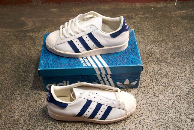 Adidas Superstar Blue White 1