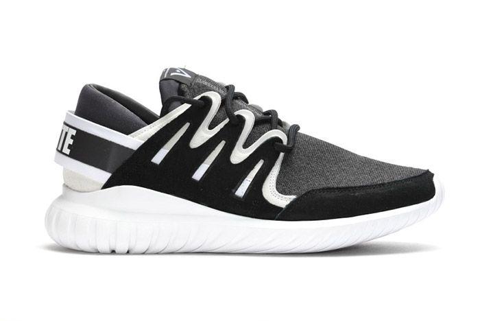 White Mountaineering Adidas Tubular Nova Black 1