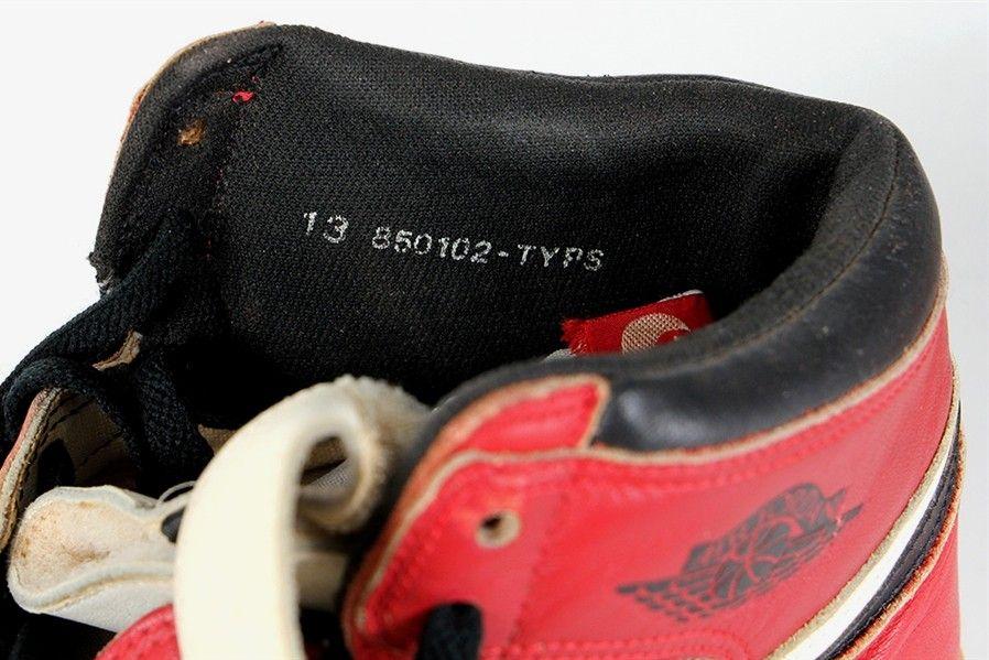 Post Injury Air Jordan 1 Chicago Collar