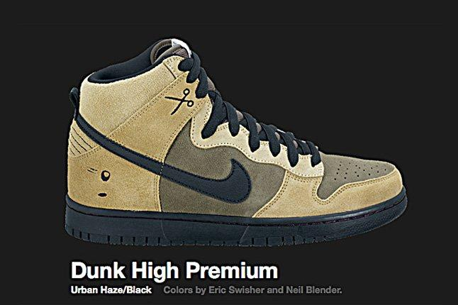 Nike Urban Haze Dunk Hi Sb 2010 2