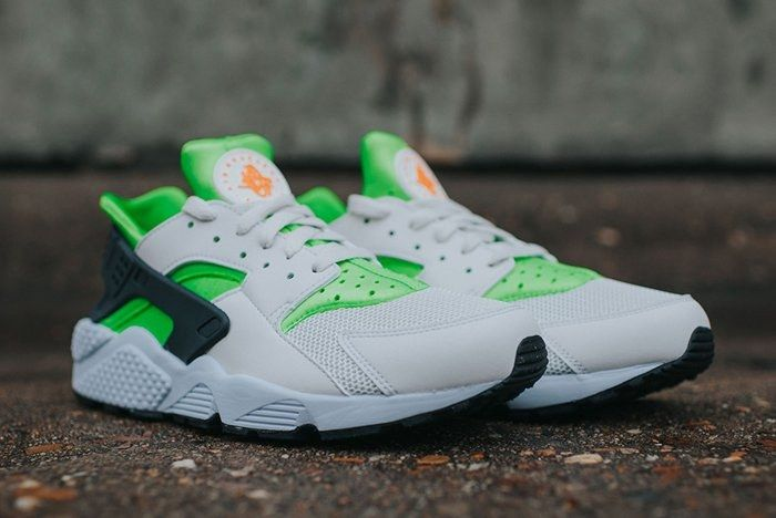 Nike Air Huarache Action Green 2