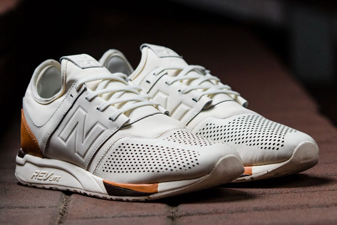 New Balance 247 Lux White Leather 2