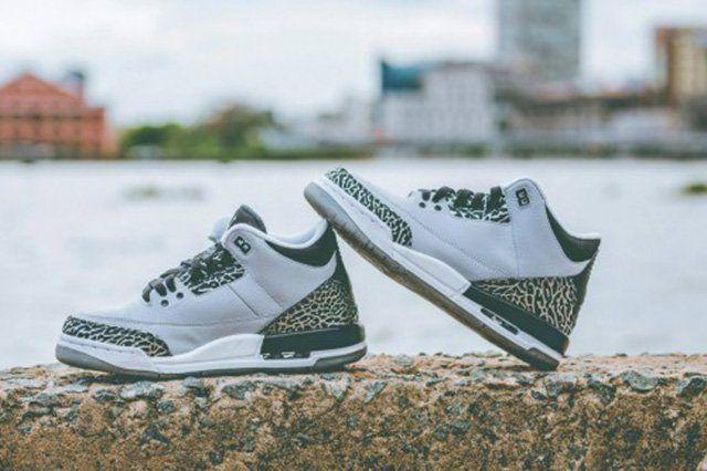 Air Jordan 3 Gs Wolf Grey 4