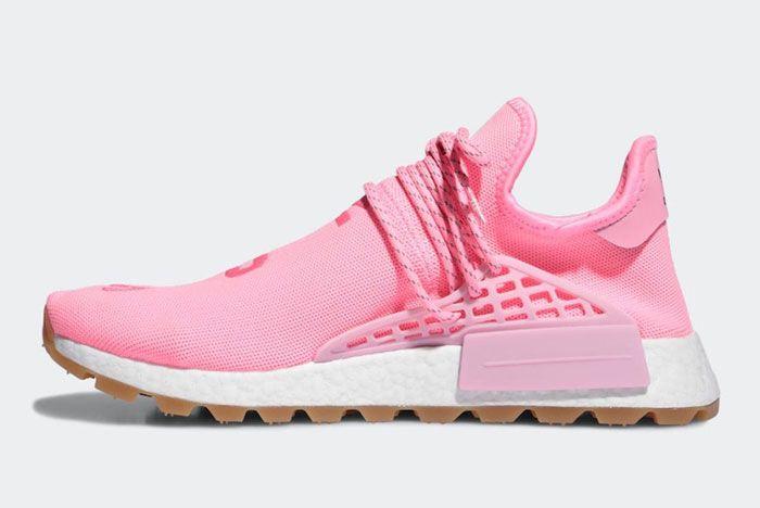 Pharell Adidas Hu Nmd Pink Lateral Inside