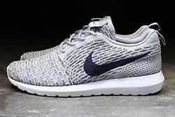 Nike Flyknit Roshe Run Grey 41