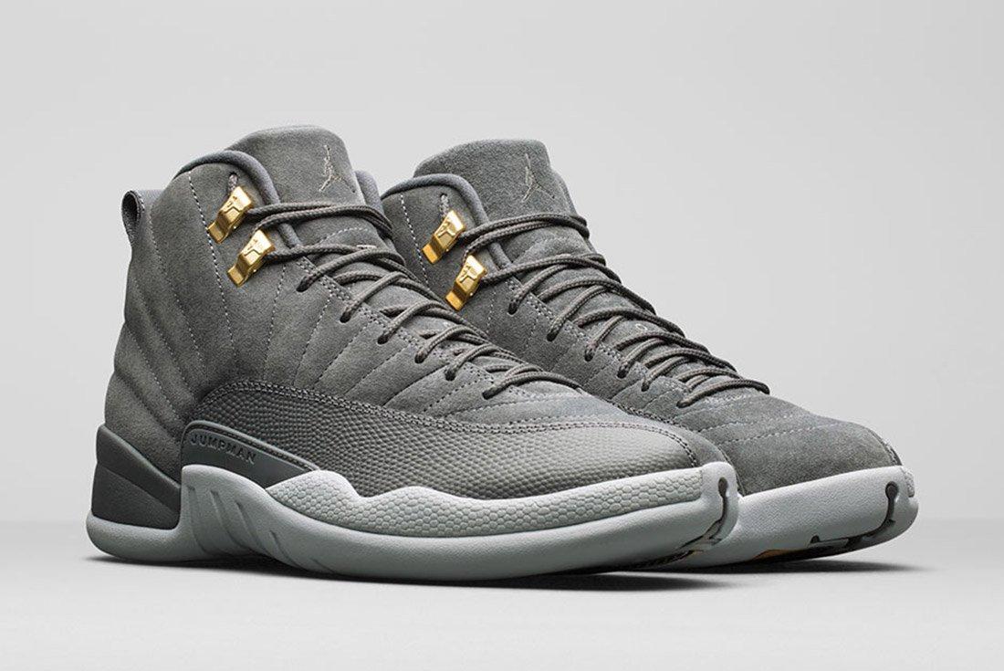 Air Jordan 12 Grey 1