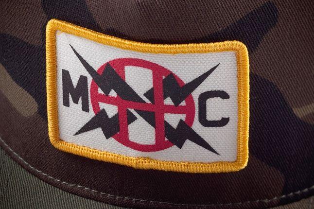 Huf Monster Children Snapback Badge Detail 1