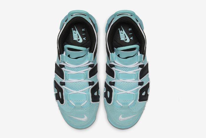 Nike Air More Uptempo Gs Light Aqua Top