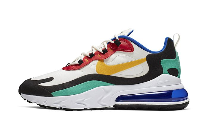 Nike Air Max 270 React Bauhaus Mens Release Date Lateral