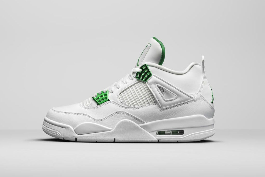 Jordan Brand Summer 2020 Air Jordan 4 Metallic Pack Green Lateral