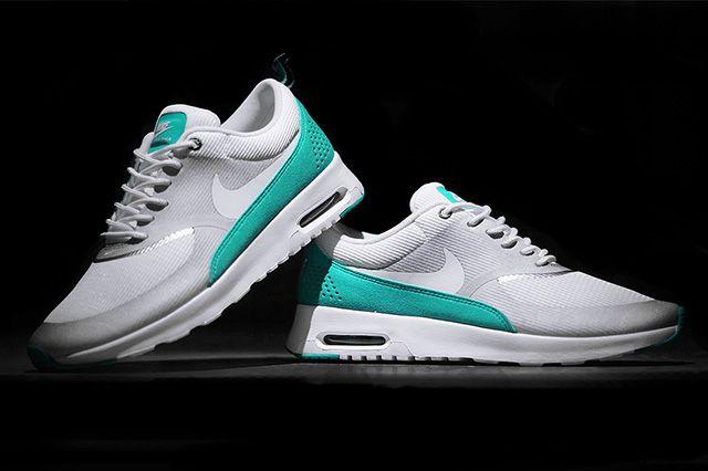 Nike Air Max Thea Metallic Silver Tribe Green