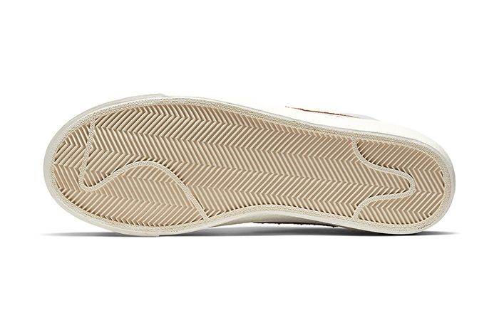 Nike Blazer Mid Vintage Python Ci1176 002 Release Date Outsole
