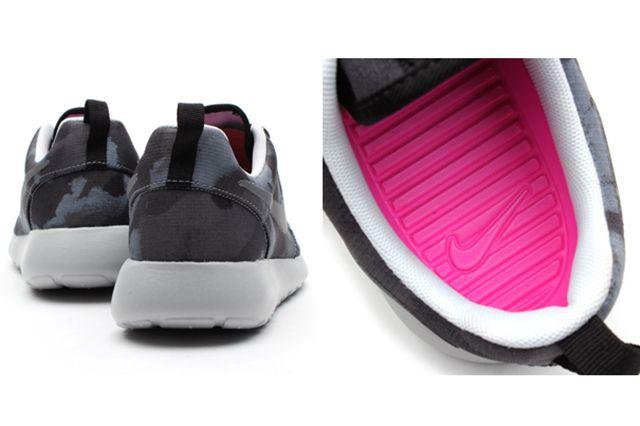 Nike Roshe Run Print Cool Grey Club Pink 1
